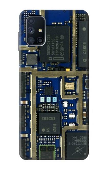 S0063 Curcuid Board Case For Samsung Galaxy M51