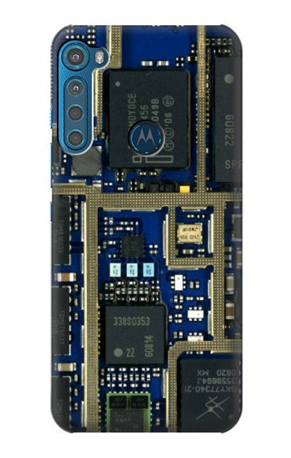 S0063 Curcuid Board Case For Motorola One Fusion+