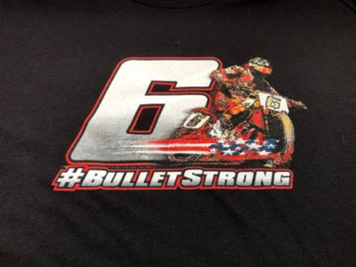The Bullet T-Shirt - #BULLETSTRONG