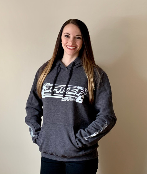 Bullet Strong Hoodie - Charcoal Grey