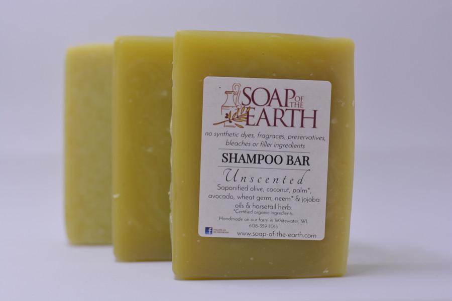 Shampoo Bar UNSCENTED