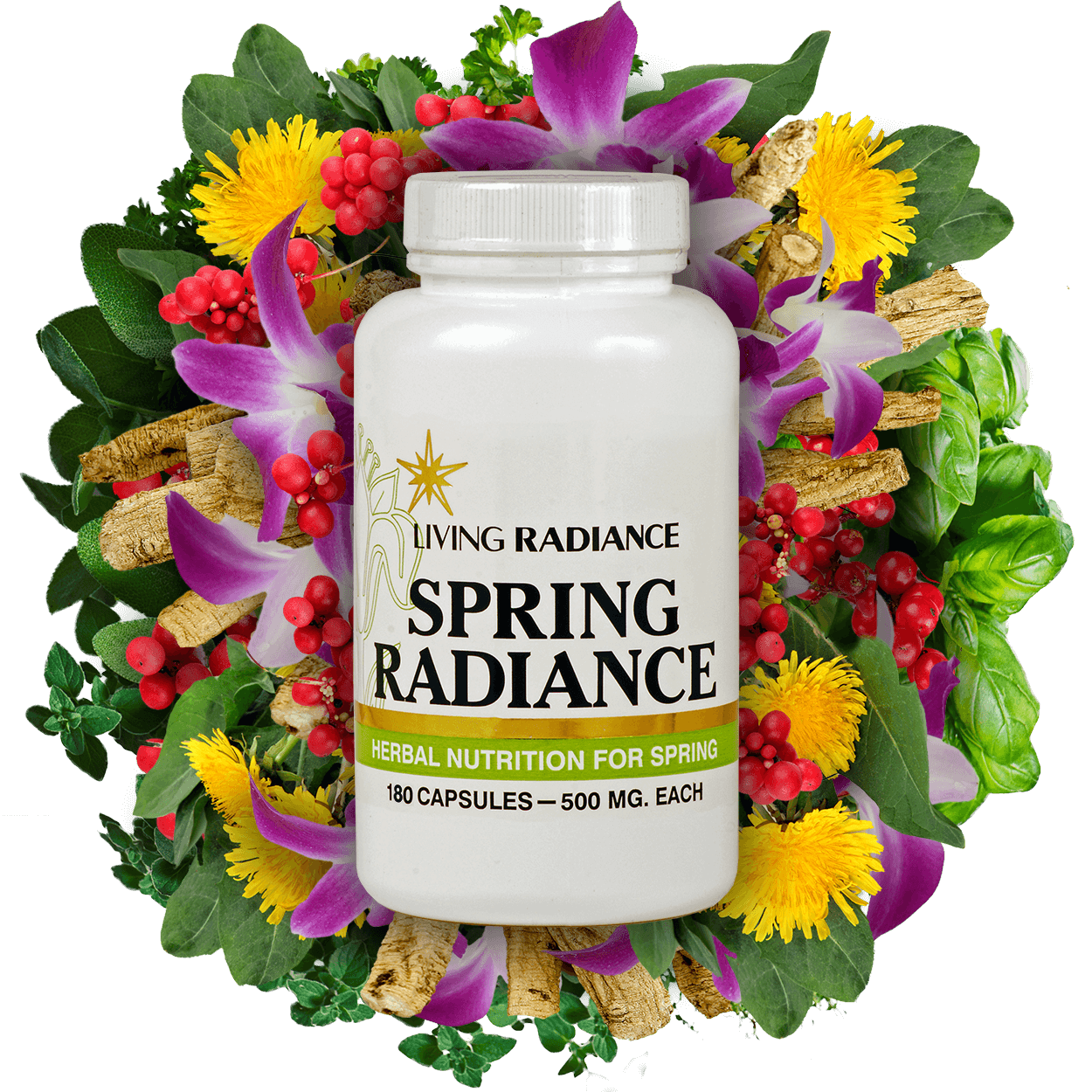 Spring Radiance Herbal Supplement