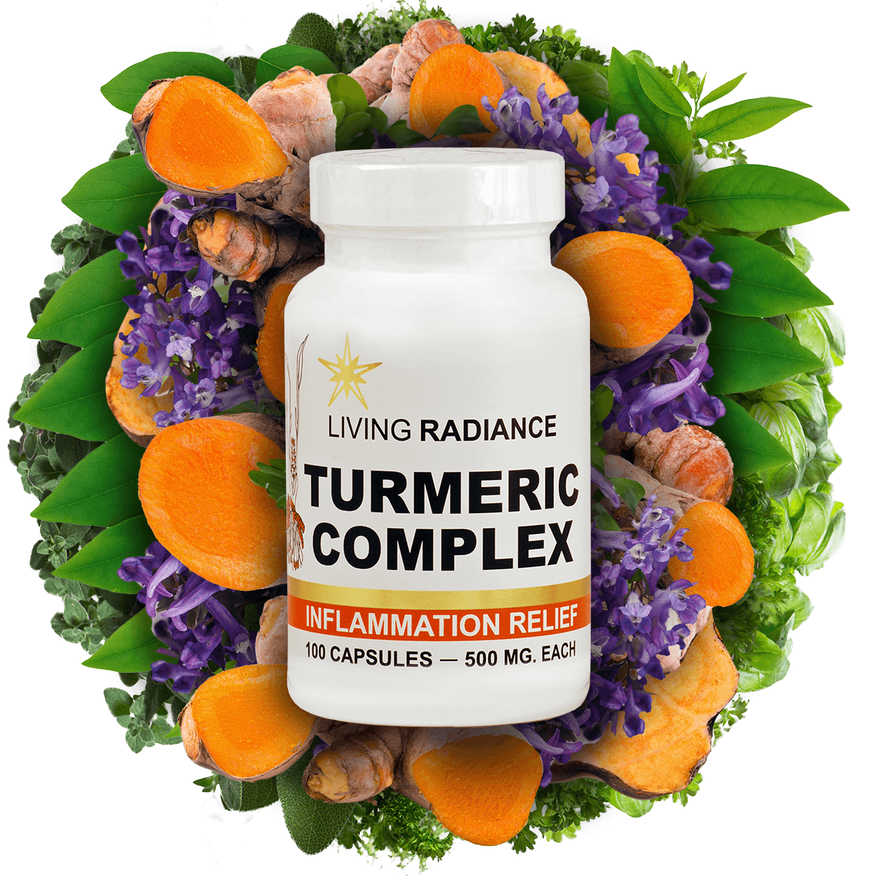 Tumeric Complex Herbal Supplement