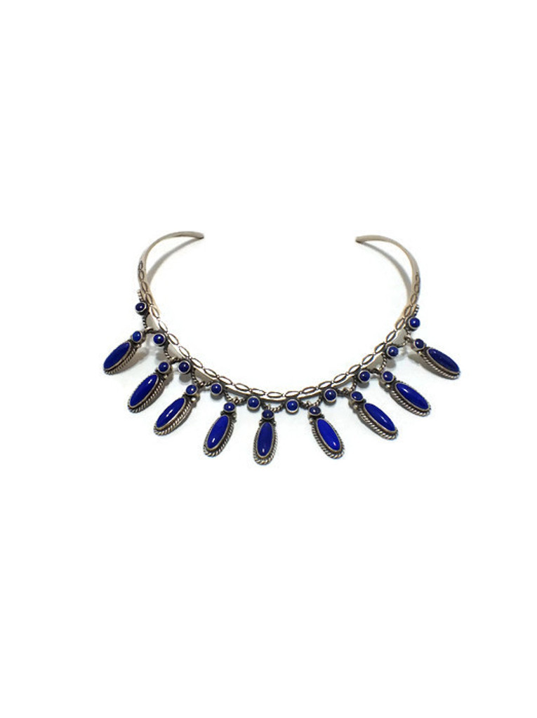 Chaco Canyon Lapis Necklace