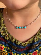CUTEEE Little Bar Necklace
