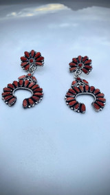 Zeta Begay Statment Earrings