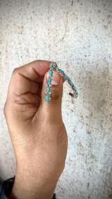Chaco Canyon Zuni Hoop Earrings