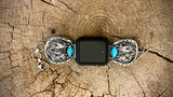Chaco Canyon Double Horse Kingman Turquoise Watch