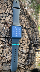 Chaco Canyon Apple Watch 5 Stone Accessory Kingman Turquoise