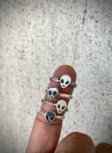 Out of this world!! Alien Head Rings (High Shine or Old Style)
