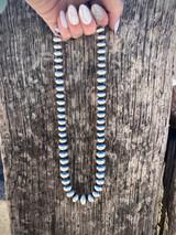 """Navajo Pearl 18"""" Bead Necklace"""