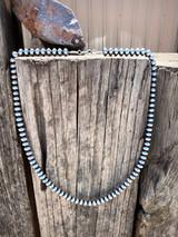 """Navajo Pearl 26"""" Bead Necklace"""