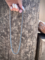 "Navajo Pearls 20"" Saucer Necklace"