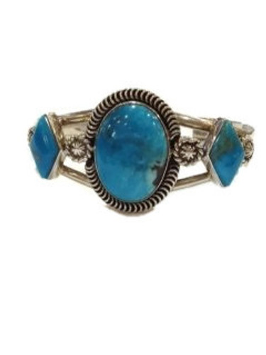 Chaco Canyon Turquoise Cuff