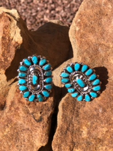 Turquoise And Sterling Rings