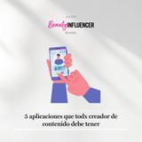 5 aplicaciones que todx creador de contenido debe tener