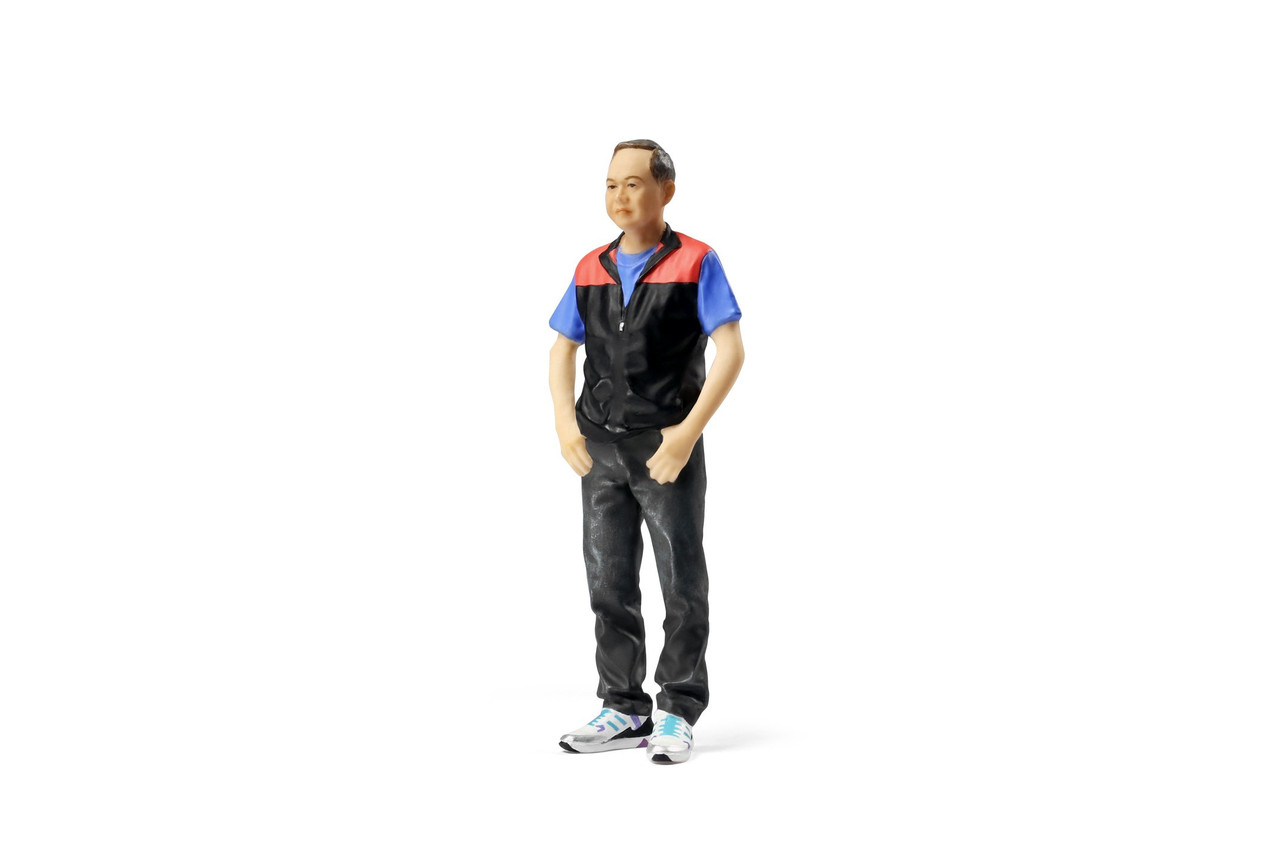 TINY City HK Scale 1//18 #18 HONG KONG WOMAN POLICE CONSTABLE Resin Model Figure