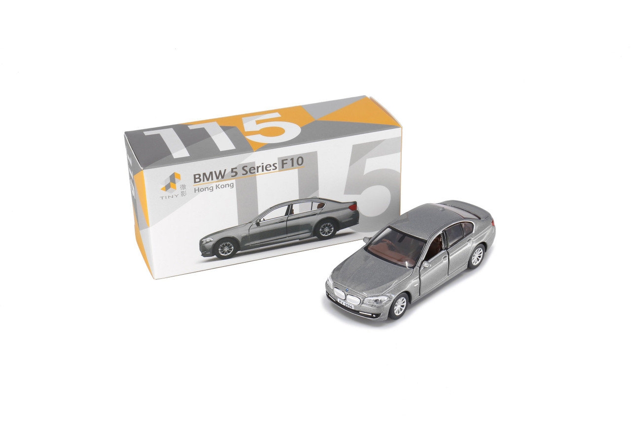TINY 1//64 Alloy casting car model BMW 5 Series F10 Gift collection black