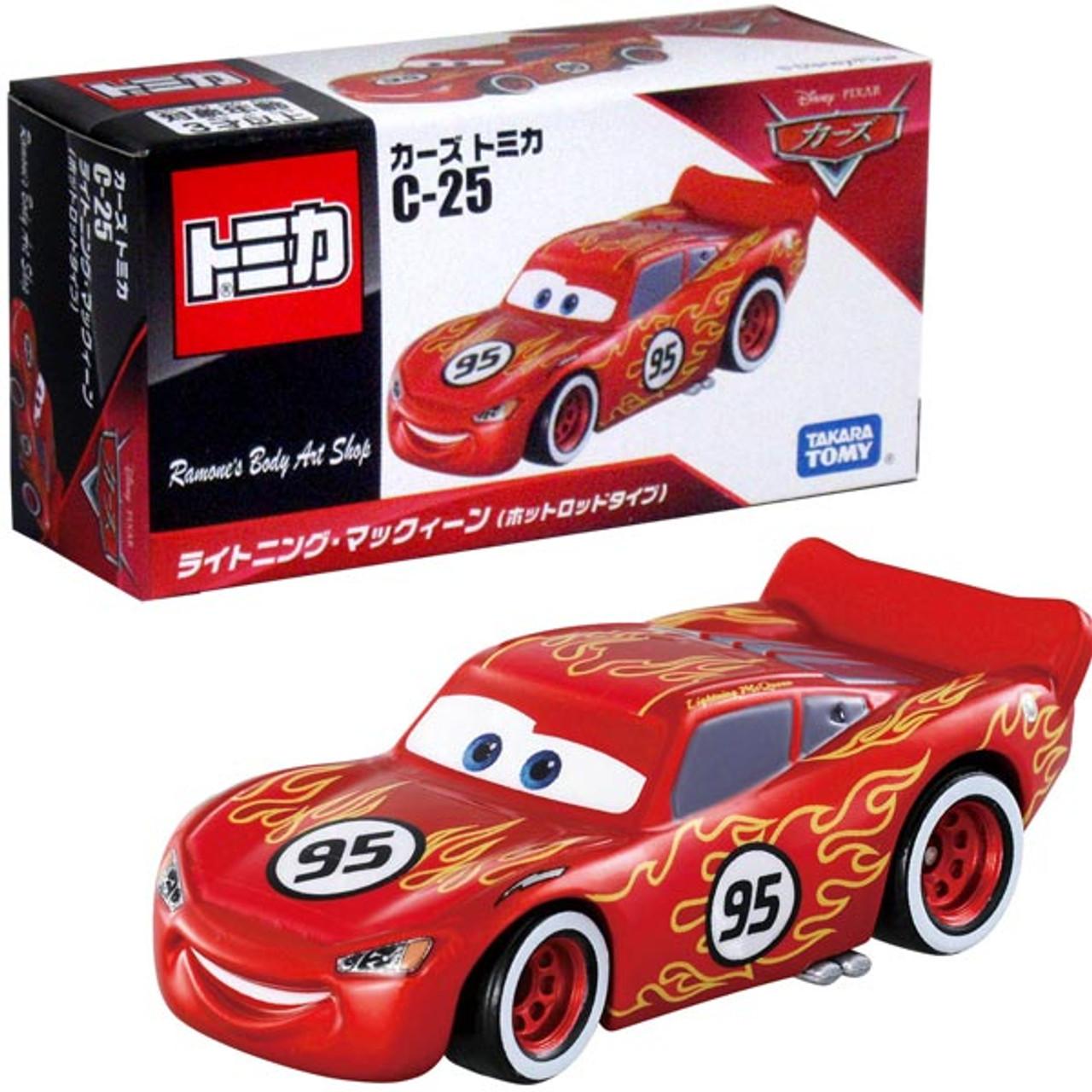 Tomica Takara Tomy Disney Pixar Cars C 25 Lightning Mcqueen Hot Rod Diecast Car Buymarket Store