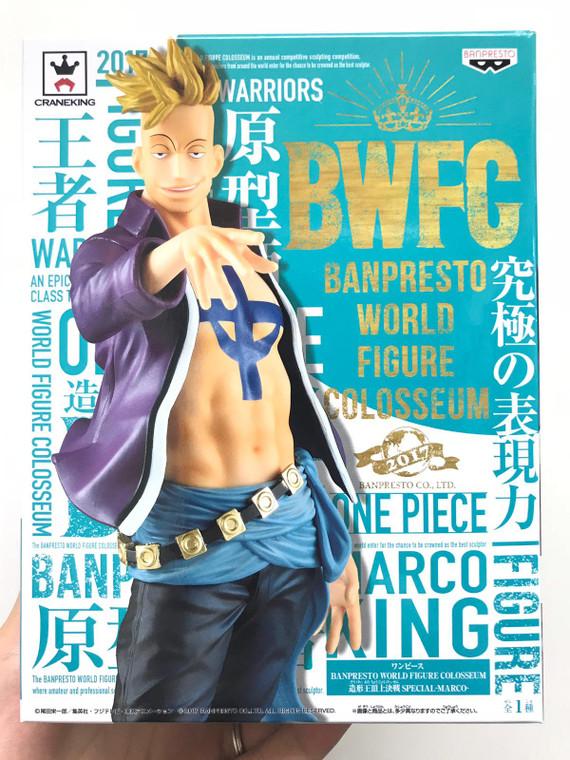 One Piece Marco World Figure Colosseum WFC Banpresto 21 cm