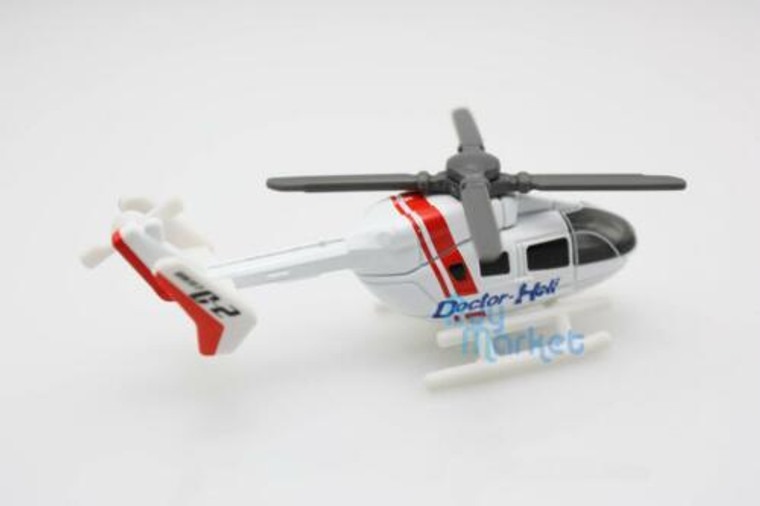 TOMICA #97 Doctor Heli HELICOPTER 1//167 TOMY Diecast Car New