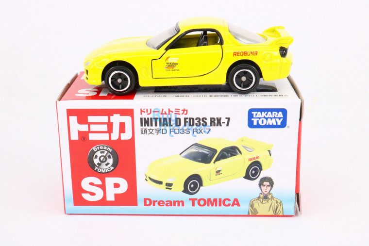 Takara Tomy Dream TOMICA  Initial D FD3S RX-7 New Movie Ver Diecast Toy Car