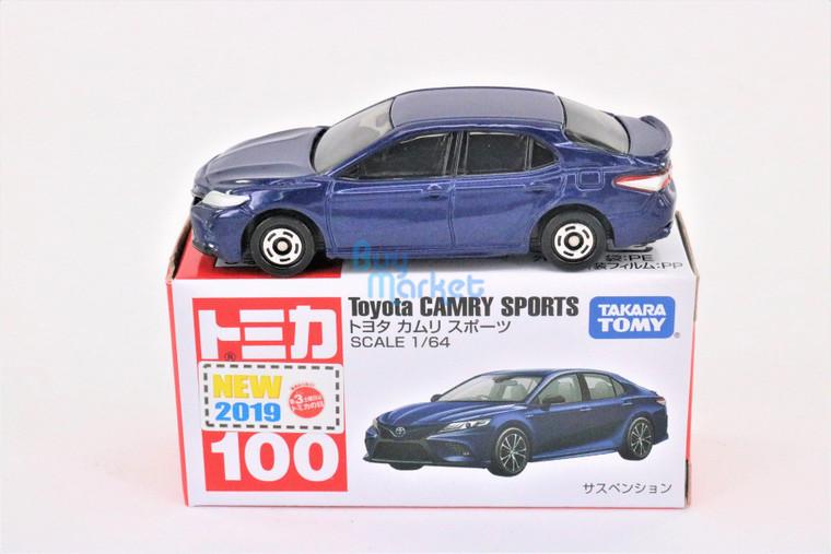TAKARA TOMY TOMICA DieCast car 1:64 Toyota CAMRY SPORTS  #100