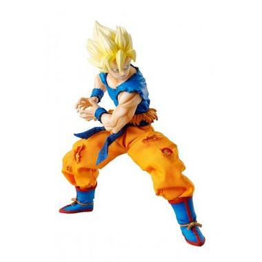 NIB Megahouse Dimension of DRAGON BALL Super Saiyan 3 Goku Authentic DOD