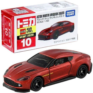 Takara Tomy Tomica 10 Aston Martin Vanquish Zagato Mini Diecast Toy Car Buymarket Store