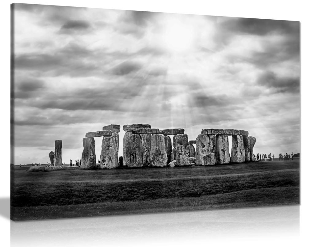 Celtic Stonehenge Canvas Wall Art Picture Print