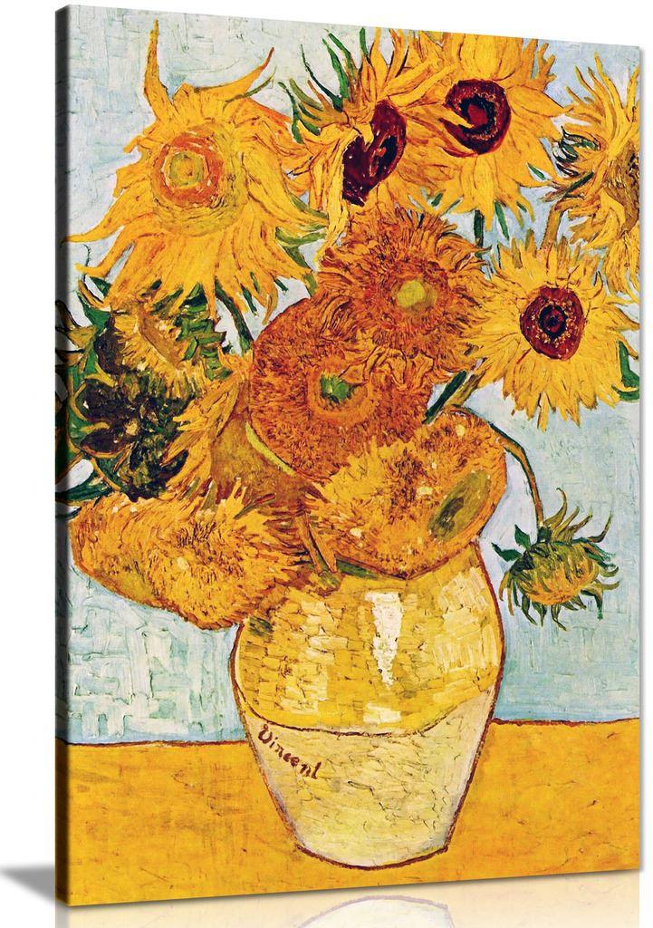 Van Gogh Sunflowers Canvas