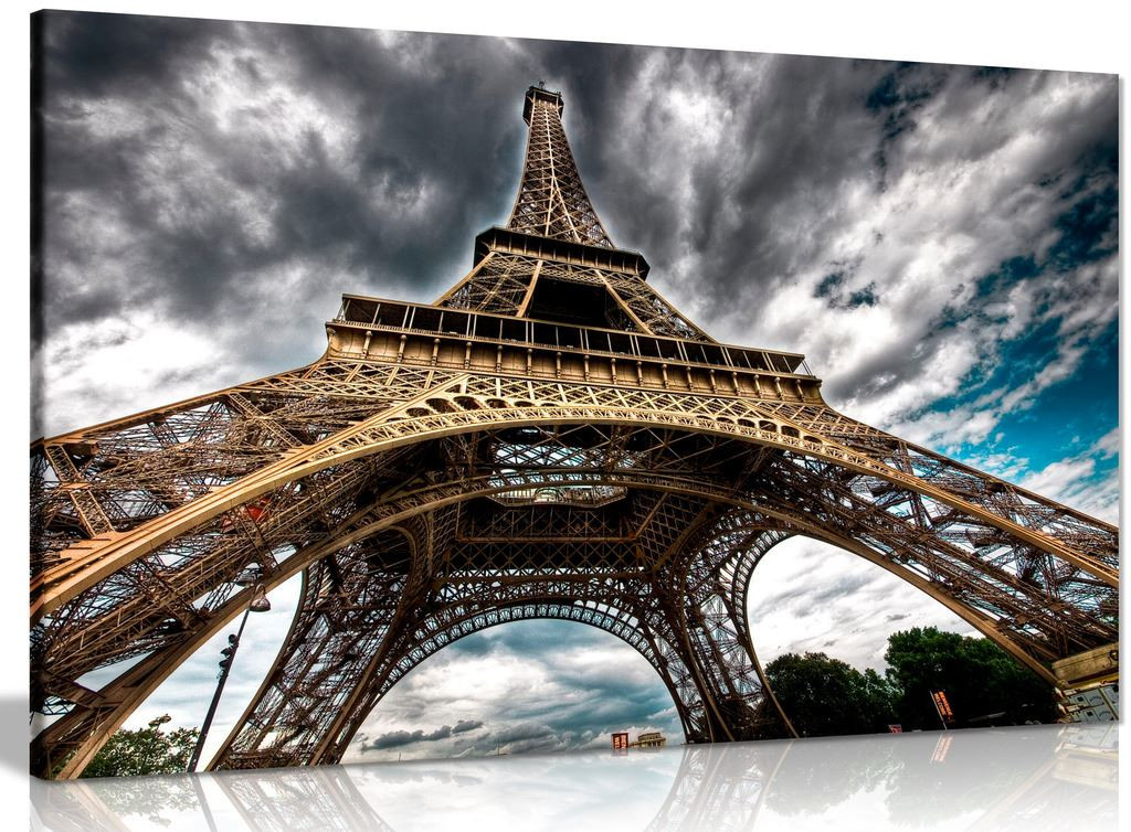 Eiffel Tower Paris Canvas