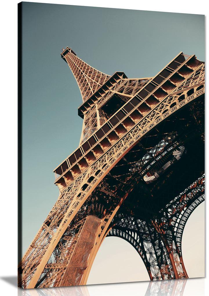 Paris The Eiffel Tower Canvas