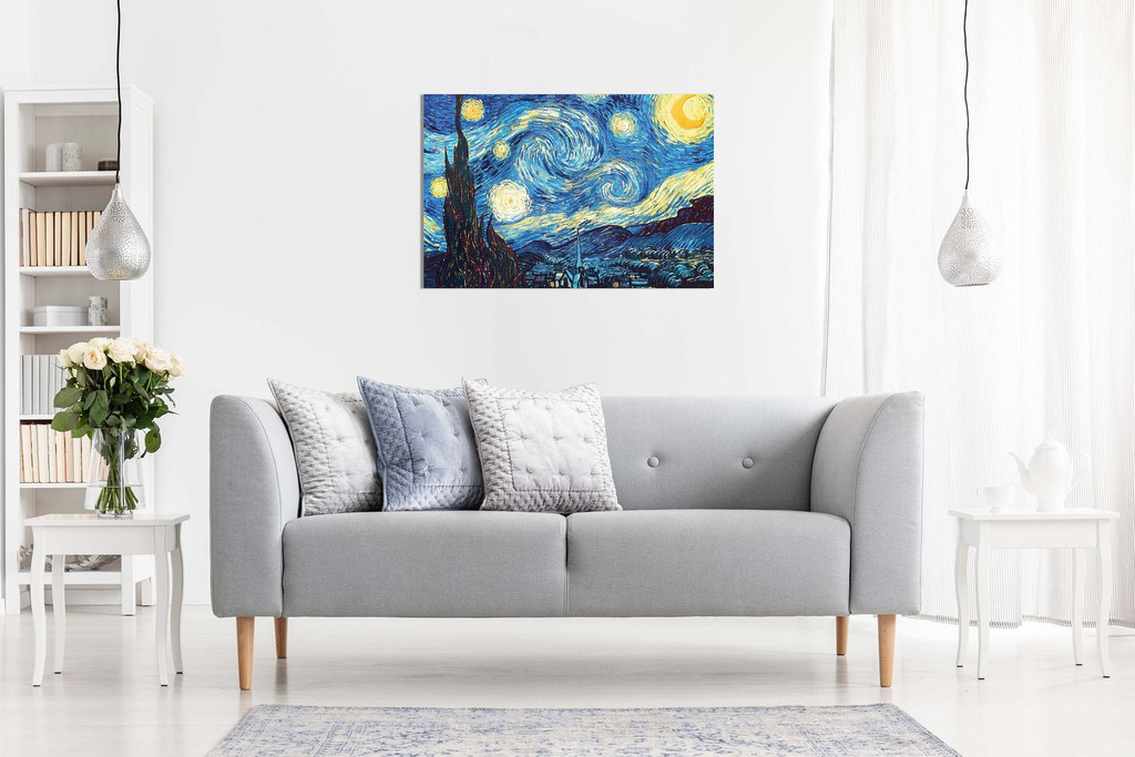 Vincent Van Gogh Starry Night Canvas
