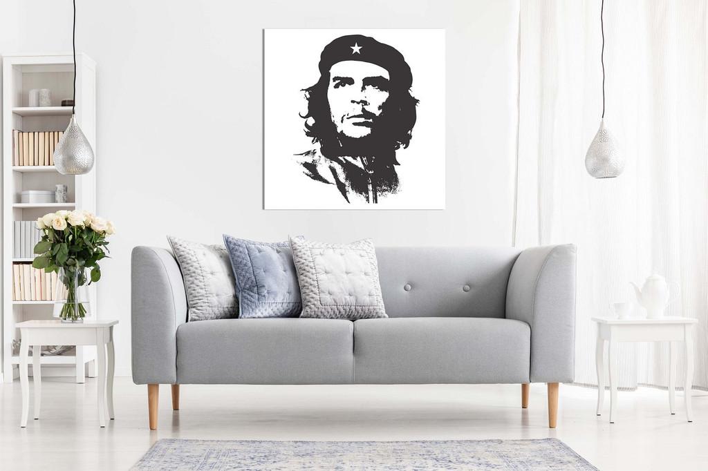 Che Guevara Silhouette Canvas