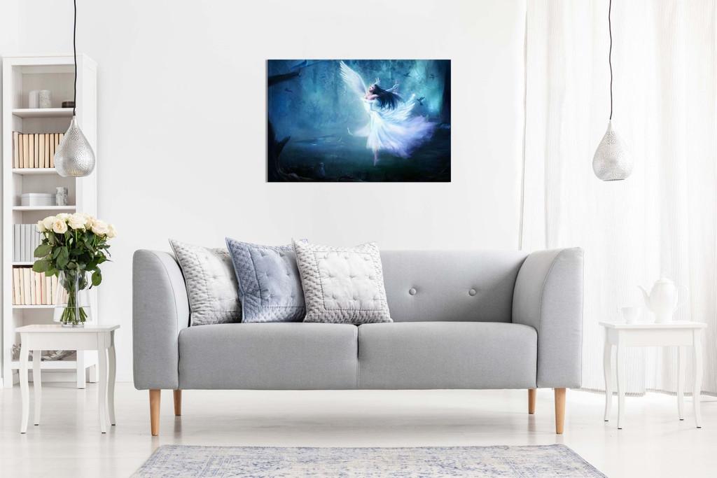 Fairy Angel Dancing Fantasy Canvas