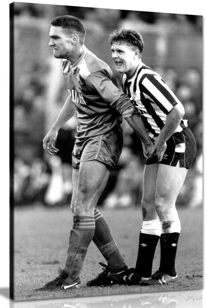 Sports Football Vinnie Jones Gazza Canvas