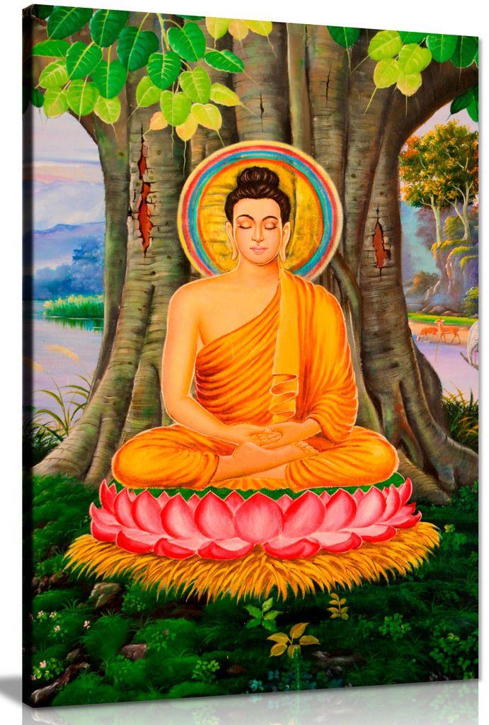Buddha Painting Canvas
