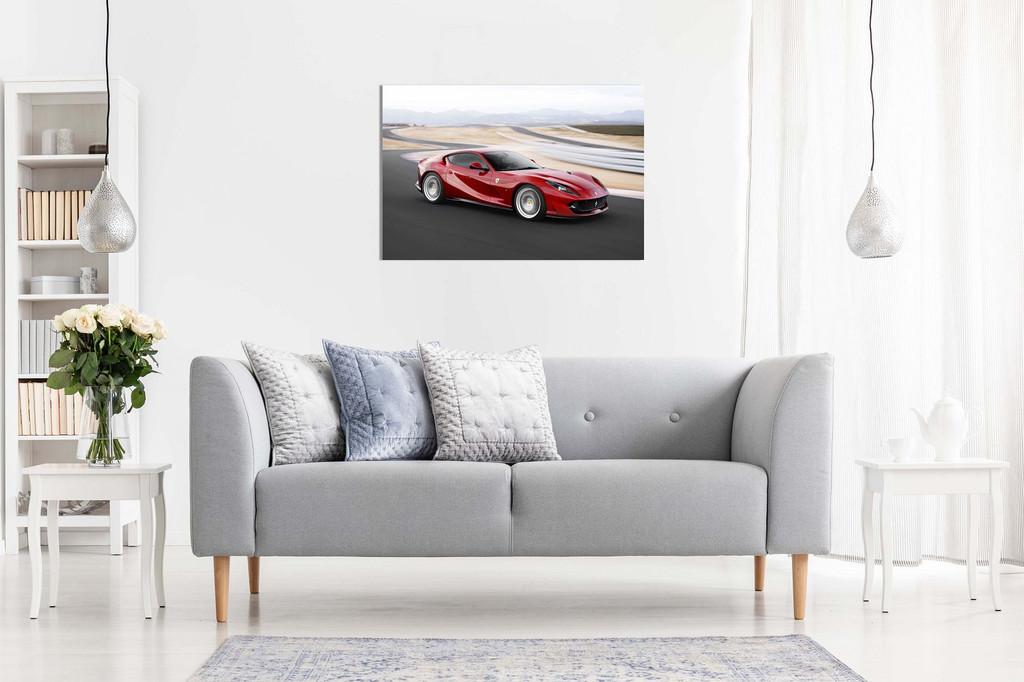 Ferrari 812 Superfast Canvas