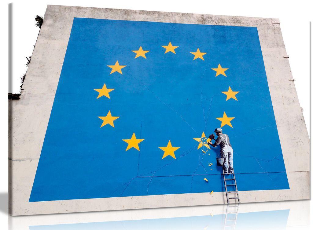 Banksy Eu Canvas