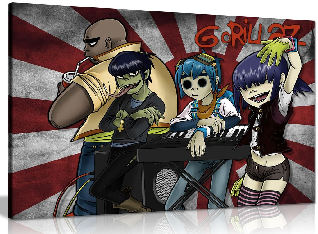 Gorillaz Canvas