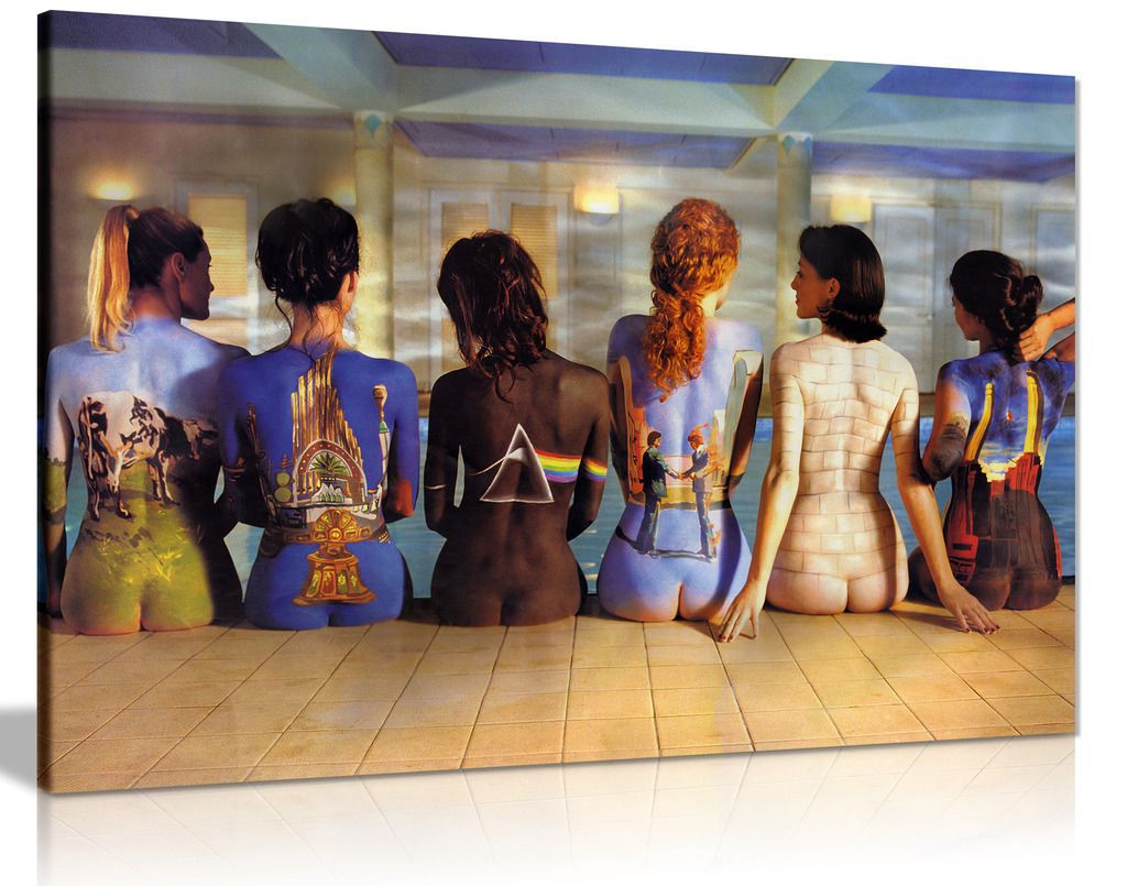 Pink Floyd Back Catalogue Canvas