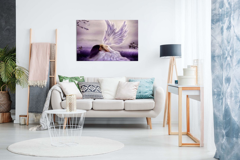 Angel Fantasy Weeping Canvas