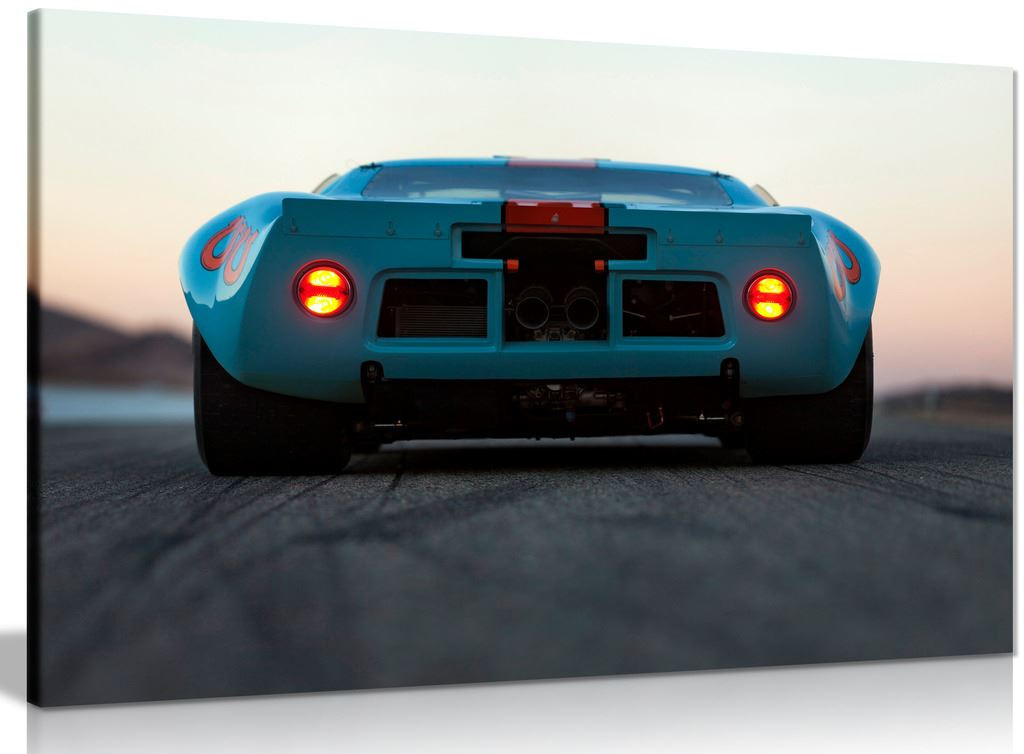 Ford Gt40 Gulf Oil Livery Le Mans 1968