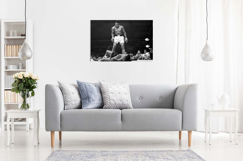 Muhammad Ali Canvas Knock Out Canvas