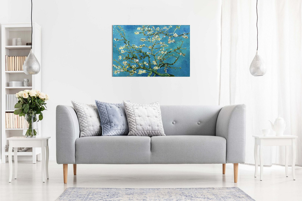 Van Gogh Blossoming Almond Tree Canvas