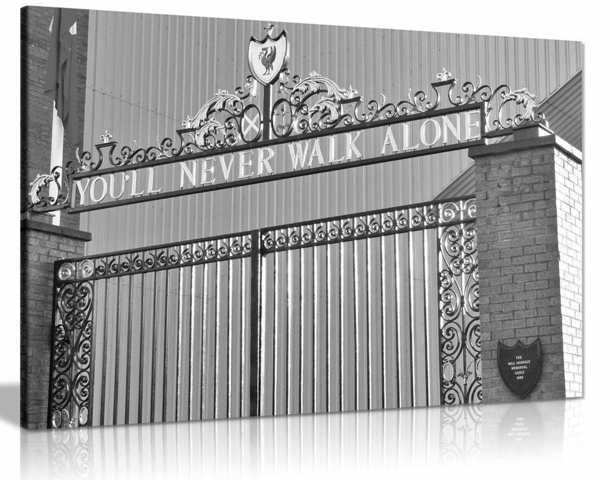 Liverpool FC You'll Never Walk Alone Canvas Wall Art Picture Print Home Decor