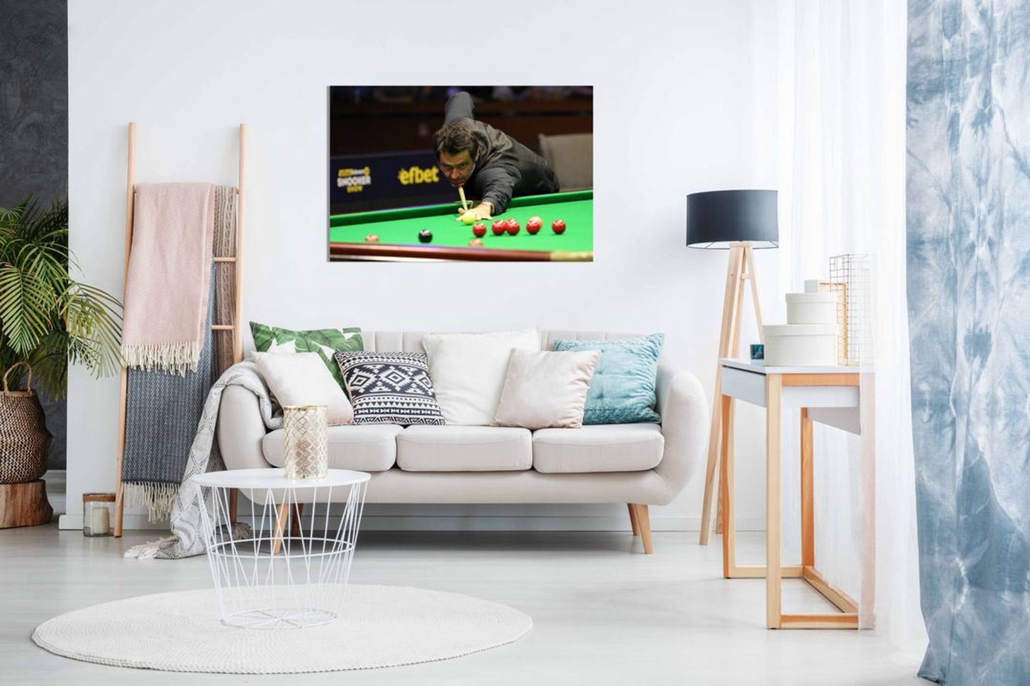 Snooker Ronnie O'Sullivan Canvas Wall Art Picture Print Home Decor