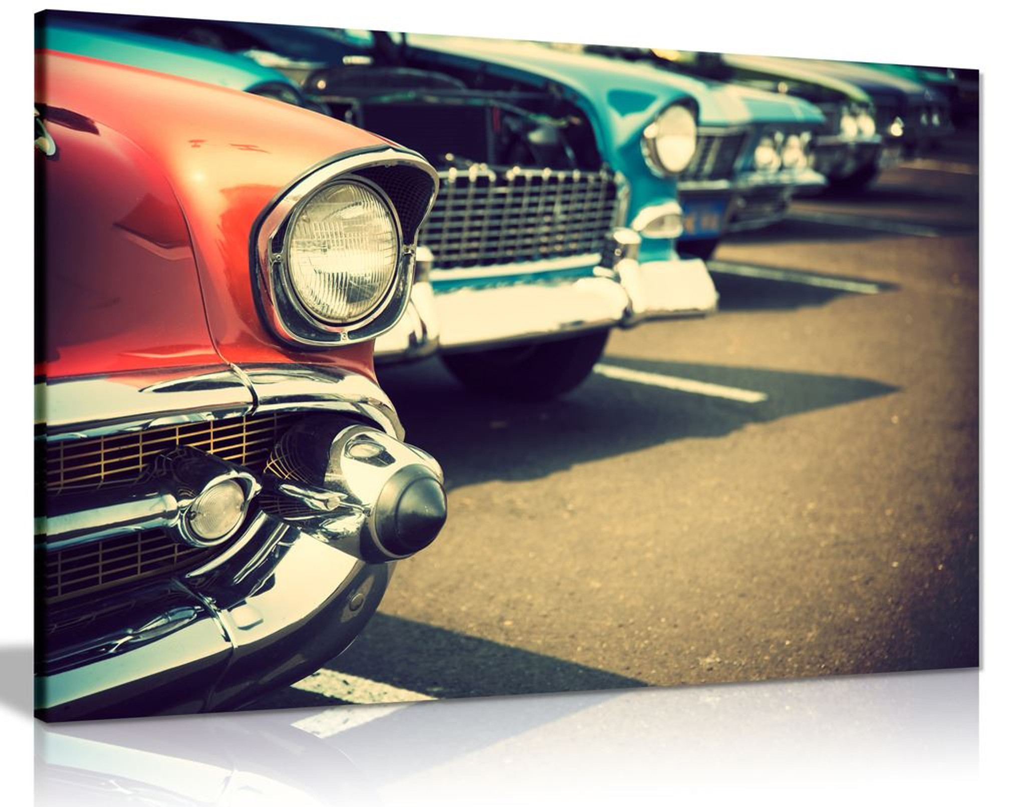 Vintage Cars Canvas