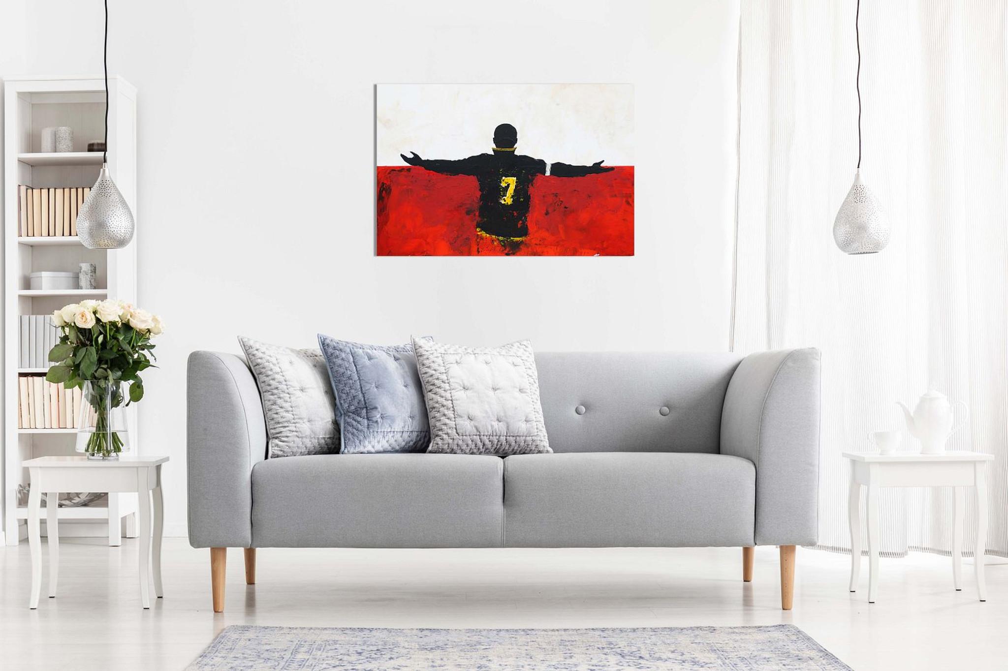 Eric Cantona Manchester United Canvas